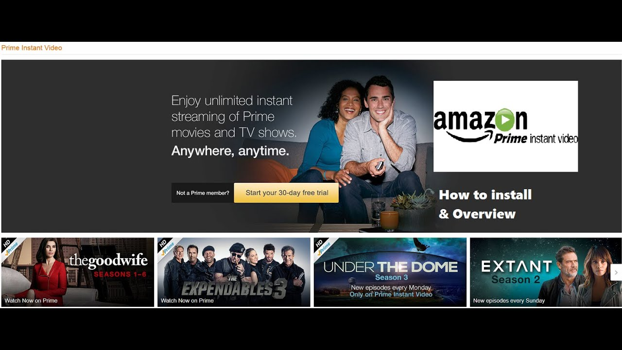Nvidia Shield Tv  Amazon Prime Instant Video (how To Install + Overview)