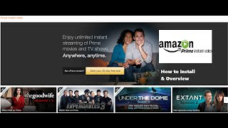 NVIDIA SHIELD TV - Amazon Prime Instant Video (How to install + Overview)