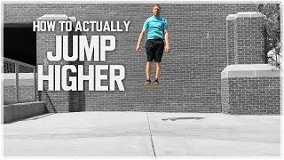 How To Run and Jump: Vertical Jump Technique to Jump Higher! | Approach Jump