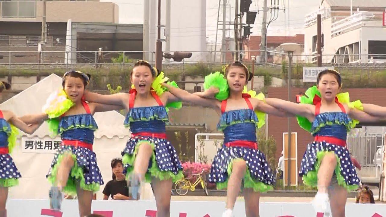 キッズ チアダンスKOBE☆DIVA  長田  神戸まつり・Chia Dance KOBE ☆ DIVA  Kobe Festival