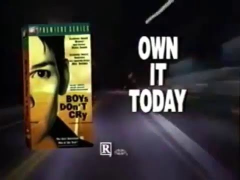 Boys Don't Cry (1999) VHS trailer