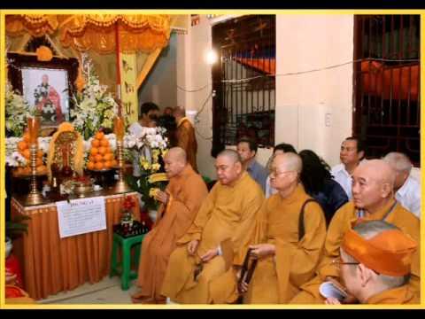 hình lễ tang Cố Hòa Thượng Thích Thiện Chơn Viện Chủ Chùa Giác Linh Quận 8