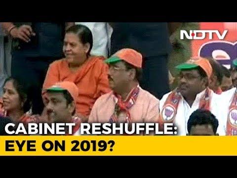 Uma Bharti, Rajiv Rudy Among 3 Who Quit, Cabinet Rejig Likely Tomorrow