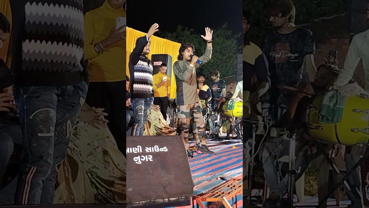 Nee Live Program ll Arjun Thakor ll Gabbar Thakor Full Moj masti Video
