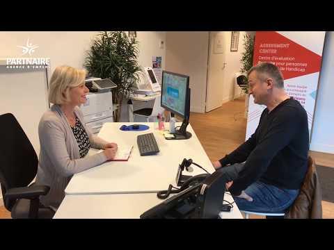 Les témoignages Partnaire - Stéphane, intérimaire en situation de handicap