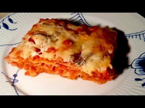ost til lasagne