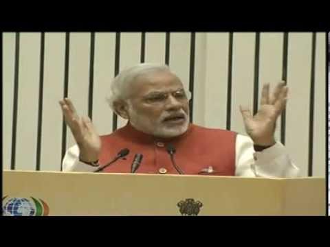 Shri Narendra Modi addressing Plenary Session on Investment opportunities in the State