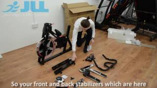 JLL® IC300 Indoor Cycling™ Bike - 2016 Model - Unboxing & Assembly (18Mins)