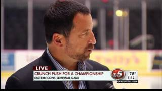 Tom Eschen's full interview with Syracuse Crunch owner Howard Dolgon