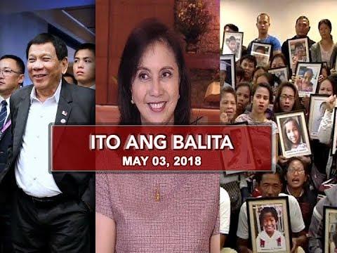 UNTV: Ito Ang Balita (May 3, 2018)