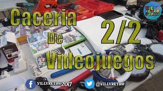 Caceria De VideoJuegos 2/2|Villy Retrogaming|  analisis noticias