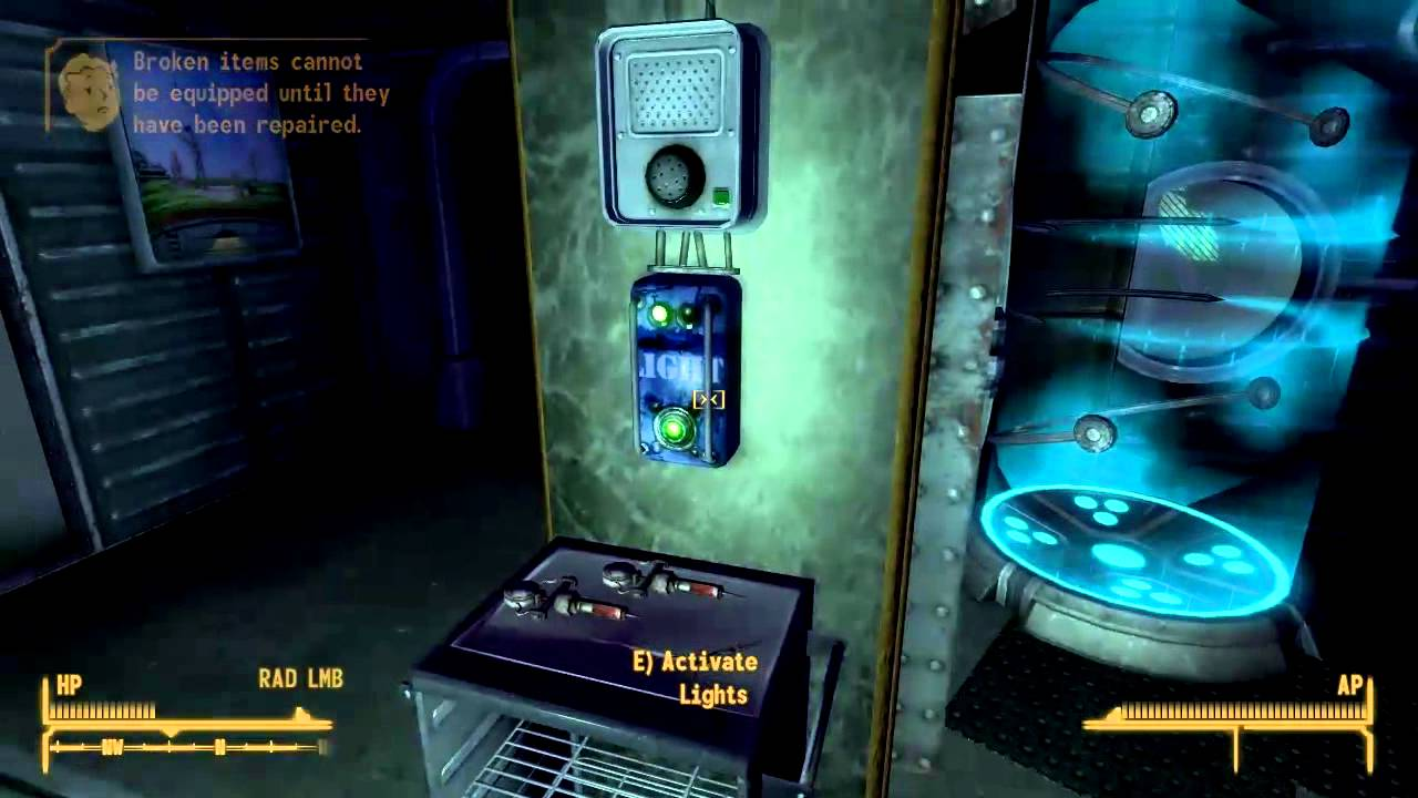 Fallout New Vegas Underwater Home Mod