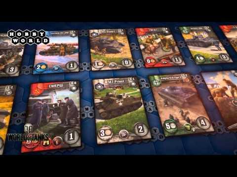 Настольная игра World of Tanks: Rush — обзор.