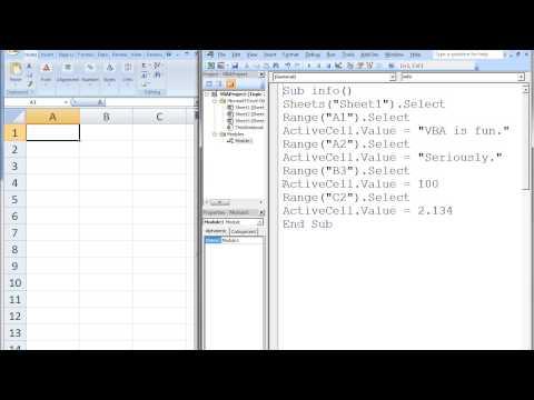 Excel Vba Topic