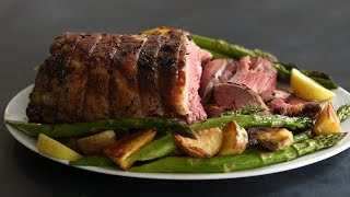 Roasted Leg of Lamb- Kitchen Conundrum with Thomas Joseph