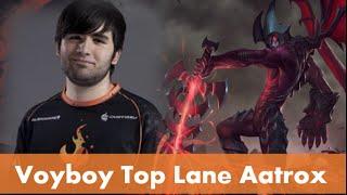 Voyboy Plays Top Aatrox vs. Tryndamere! - League of Legends S5