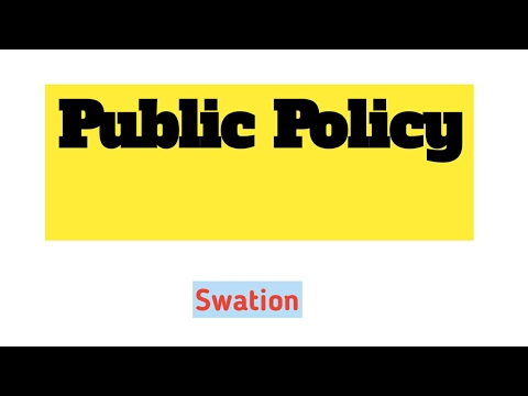 1.Public policy meaning.