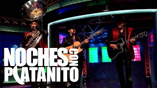 """Noches Con Platanito - Ariel Camacho y Los Plebes Del Rancho """"Te Metiste"""" - EstrellaVideos Exclusivo"""