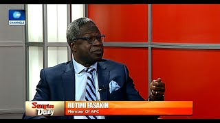 Emergence Of CUPP A Symptom Of Desperation - Rotimi Fasakin Pt.1 |Sunrise Daily|