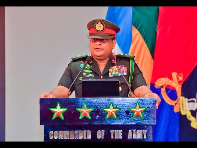General Shavendra Silva ,CDS & Commander Of the Army Voice cut to Media @ AHQ - 07.01.2021