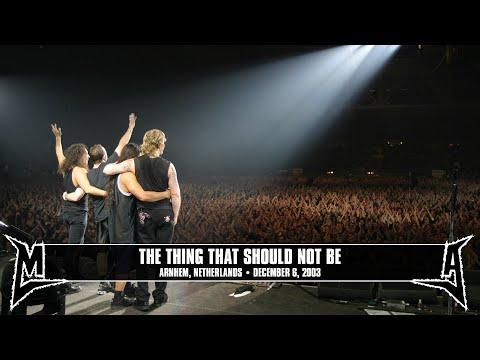 Metallica: The Thing That Should Not Be (MetOnTour - Arnhem, Netherlands - 2003) Thumbnail image