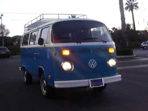 1974 vw transporter bus for sale youtube. Black Bedroom Furniture Sets. Home Design Ideas