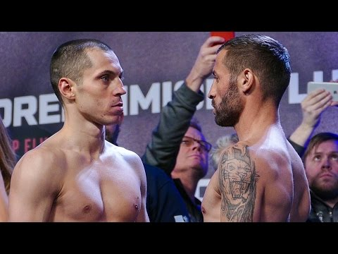 Scott Quigg vs Viorel Simion FULL FACE OFF & WEIGH IN | Josh