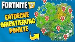 Entdecke Orientierungspunkte 📍 🗺️ Alle Orte auf neue Map | Fortnite 2 Season 1 Deutsch