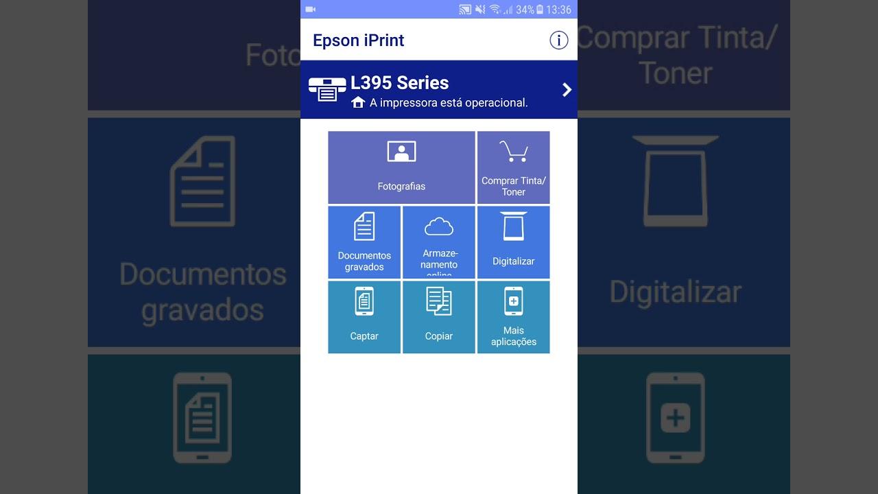 como digitalizar na impressora epson l395