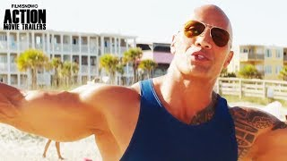 BAYWATCH | ALL Clips and Trailer Compilation for action comedy