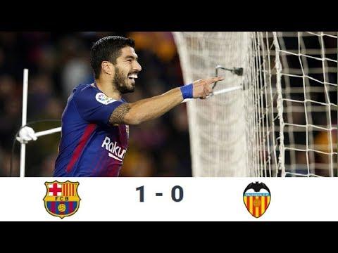 Season 2017/2018. FC Barcelona - Valencia CF - 1:0