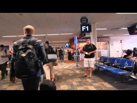 Walk Minneapolis-St. Paul Airport to Gate F