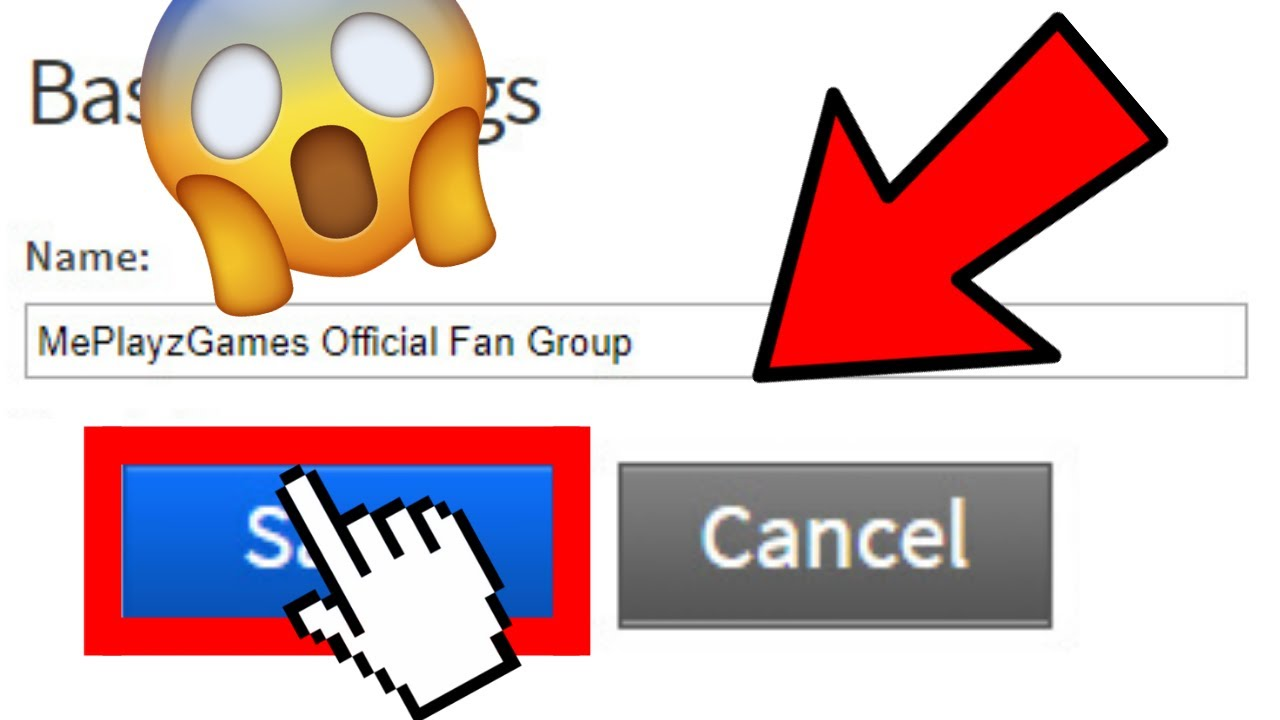 Can You Change Your Roblox Group Name Yes Or No Youtube