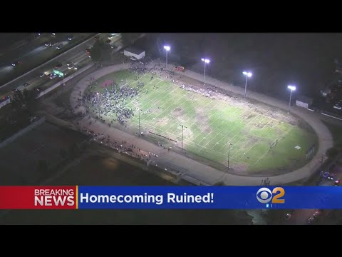 Police Search Ruins Homecoming At HS In Alhambra, Locking Down School Twice