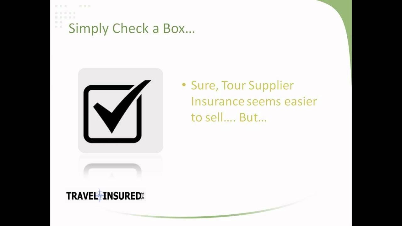 2012 Travel Insurance Panel Travel Insured International Product Presentation