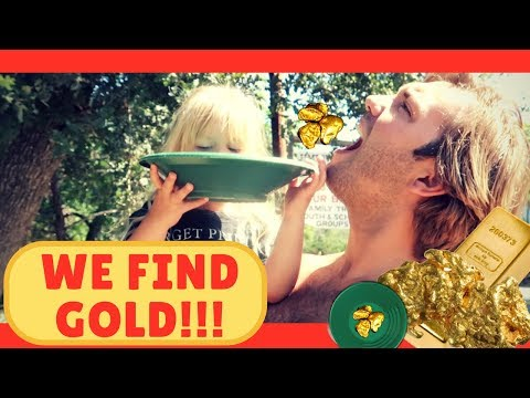 Panning For Gold!!! Huge Finds In Jamestown, CA!