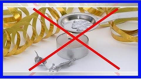 Bleigießen ist ab diesem Jahr verboten: Das sind bessere Alternativen