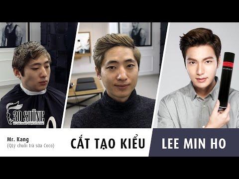 Cắt tạo kiểu Side-Part | Lee Min Ho 2016 | Tóc nam Hàn Quốc Hot 2016