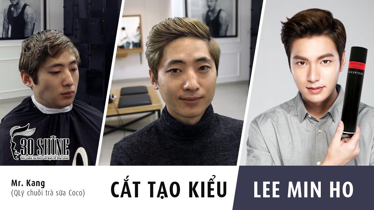 Cắt tạo kiểu Side-Part | Lee Min Ho 2016 | Tóc nam Hàn Quốc Hot 2016 | Tóm tắt các thông tin liên quan đến cách tạo kiểu tóc nam hàn quốc đầy đủ