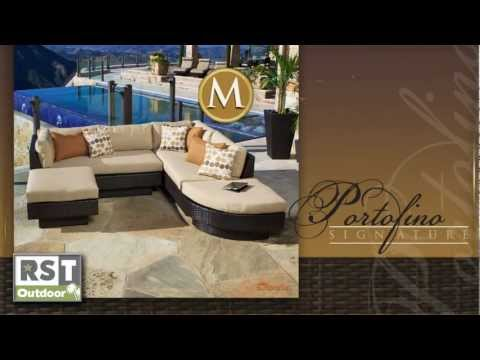 Portofino- Moda 4 Piece Sectional