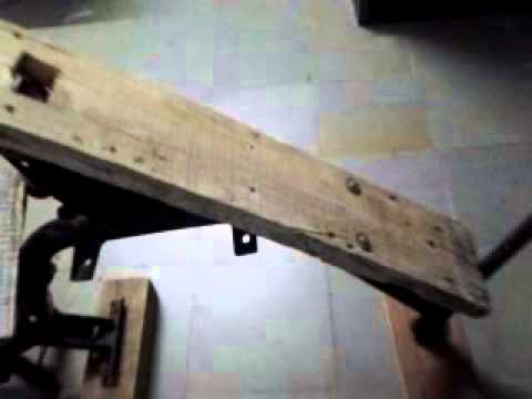 Incline Bench 3 Home Made Youtube