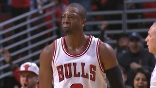 Dwyane wade's bulls debut! boston celtics vs chicago bulls