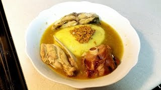 Liberian Pepper Soup And Fufu