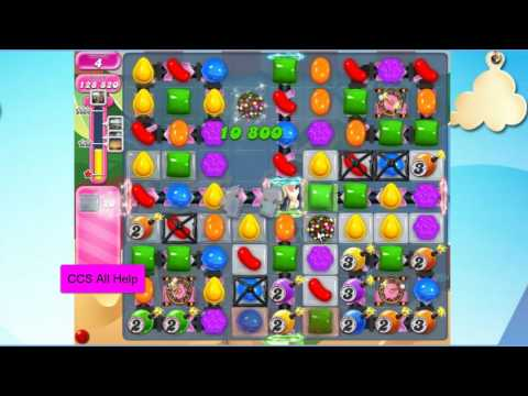Candy Crush Saga Level 2518 NO BOOSTERS Cookie