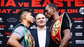 (WOW) REACTIONS TO MIKEY GARCIA-ROBERT EASTER FACE OFF