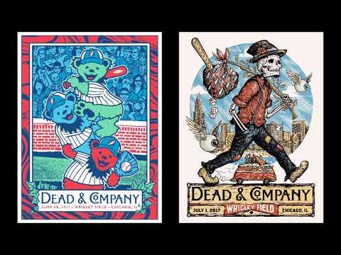 Dead & Company – 2017-06-30 & 07-01 – Wrigley Field, Chicago, IL
