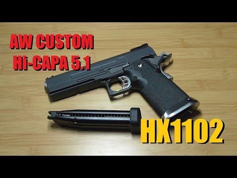 AW Custom Hi-Capa 5.1 - анпакинг пистолета