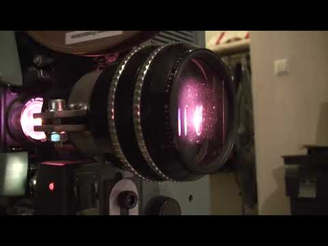 16 mm CinemaScope film projection