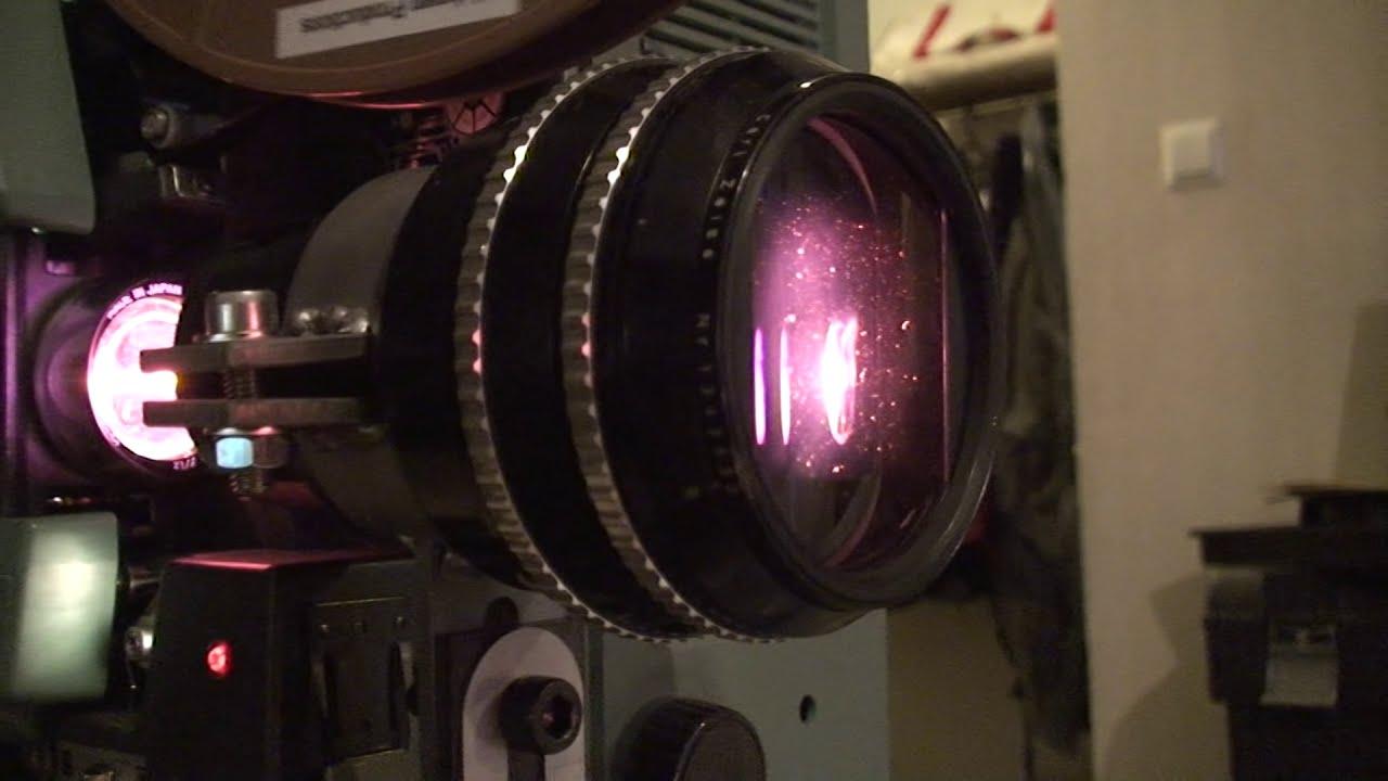 16 mm CinemaScope film projection