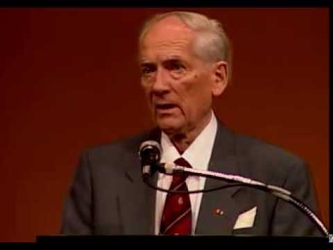 Heinz Drossel, 2004 Wallenberg Lecture